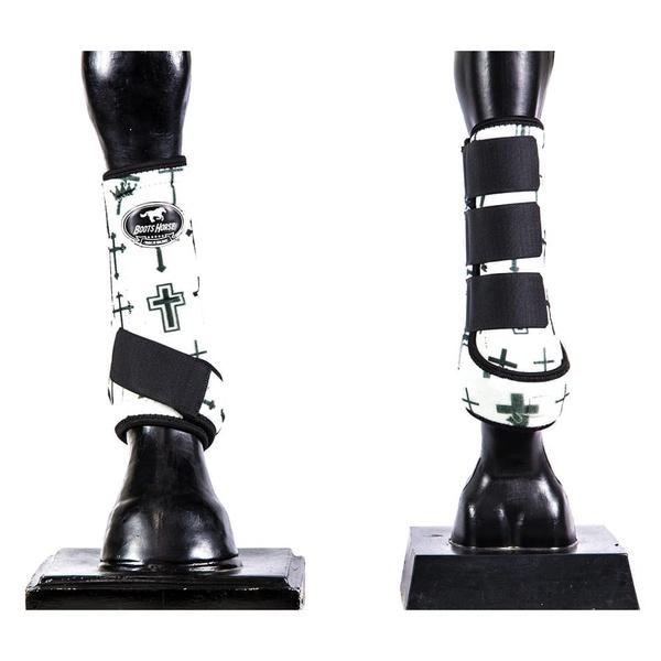 Boleteira Dianteira Estampada Boots Horse 4513
