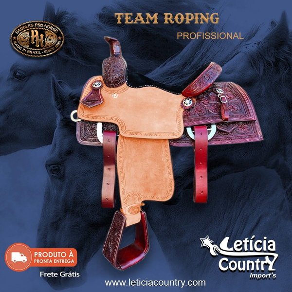 Sela de Laço Team Roping Profissional Pro Horse 5201