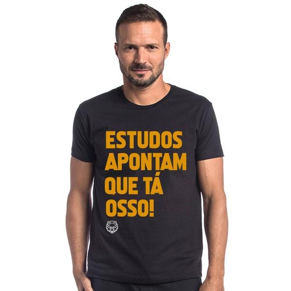 T-shirt Camiseta WOLF Estudos