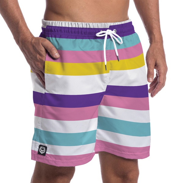 Short Masculino Forthem Stripes