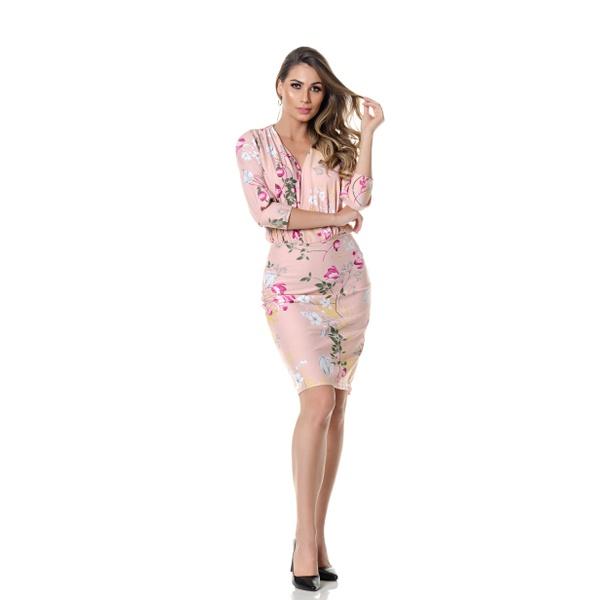 Vestido Cintia - FLORAL