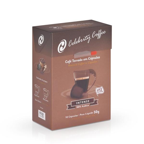 Café Celebrity Coffee - Intense - em Cápsulas