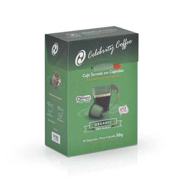 Café Celebrity Coffee - Organic - em Cápsulas