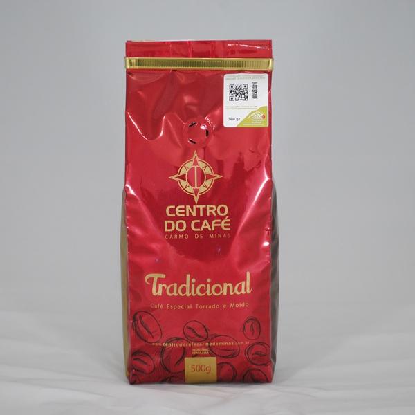 Café Centro do Café Tradicional - Torrado e Moído - 500g