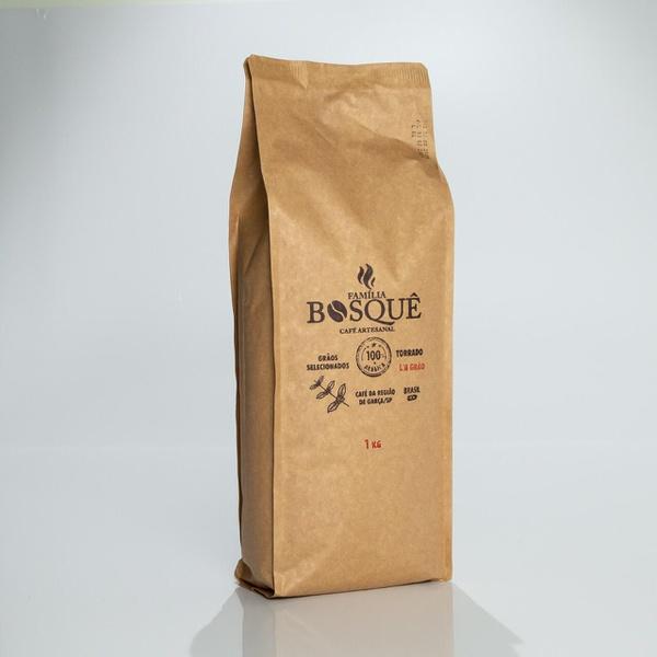 Café Família Bosquê - Em Grãos - 1 kg