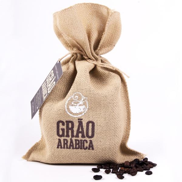 Café Grão Arábica - em Grãos - Torra Média - 250g