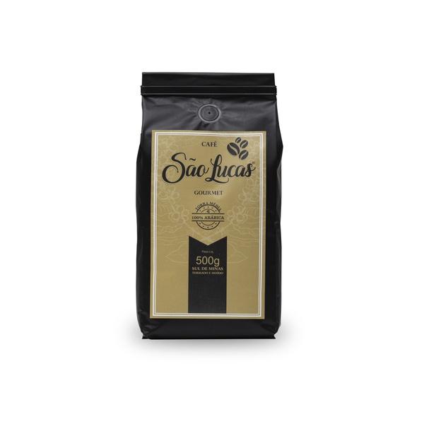 Kit com 5 Kg de Café São Lucas - Torra Média - Torrado em Grãos