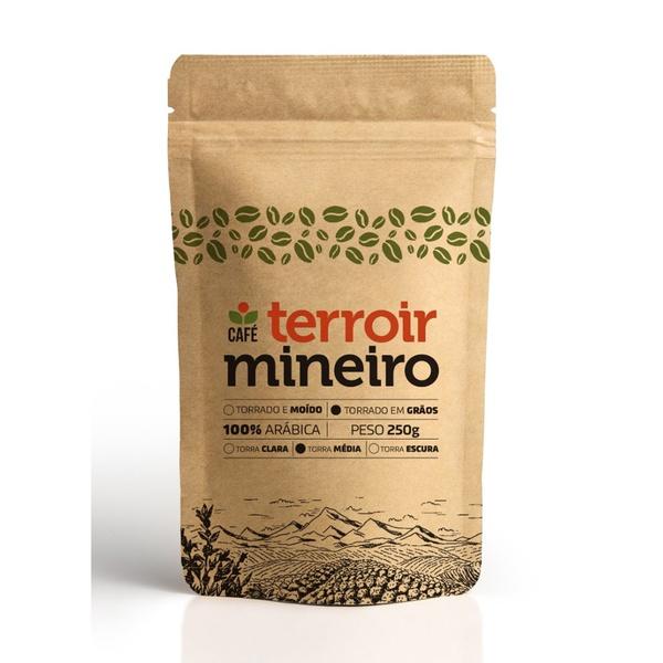 Café Especial Terroir Mineiro em Grãos – Sítio Forquilha do Rio – 250g – Rapadura, Doce de Leite e Ameixa – 85 pontos