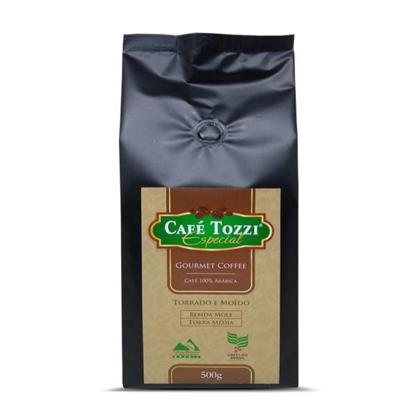 Café Tozzi Gourmet - Café torrado e Moído - 500g