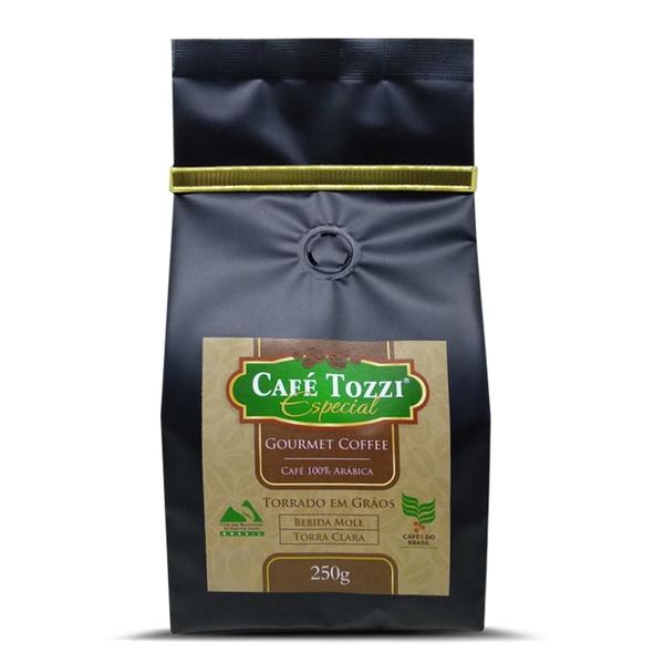 Café Tozzi Gourmet - Café torrado em Grãos - 250g