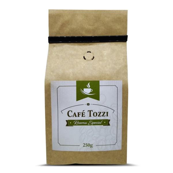 Café Tozzi Reserva Especial - Micro Lote - Café torrado em Grãos - 250g