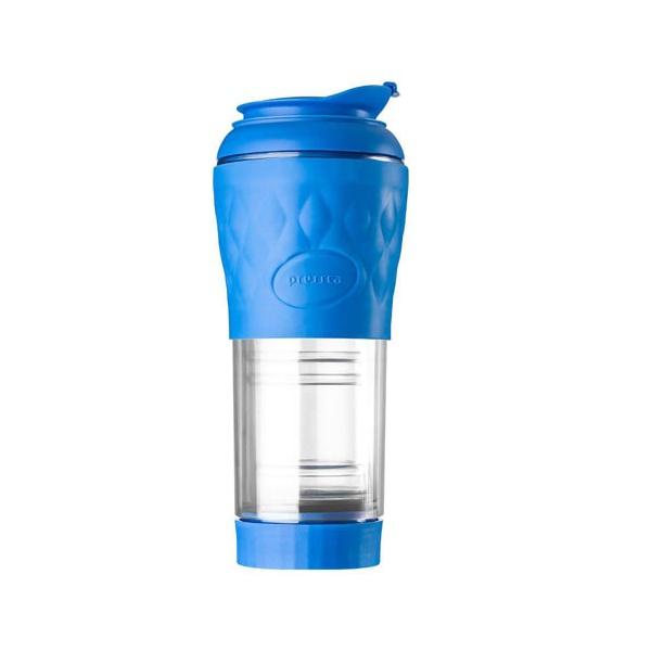Cafeteira Portátil Pressca 350ml - Azul