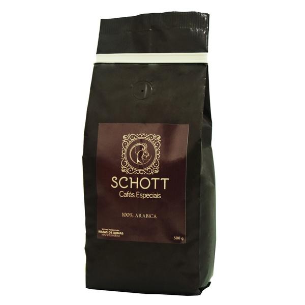Schott Cafés Especiais - em Grãos - 500g