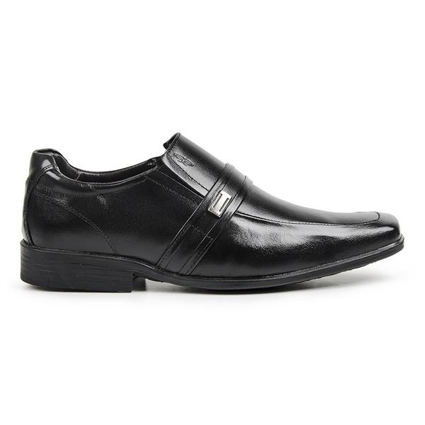 Sapato Social Calprado Napa Vegetal Preto + BRINDES