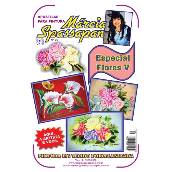 Apostila Para Pintura Flores Edição 39