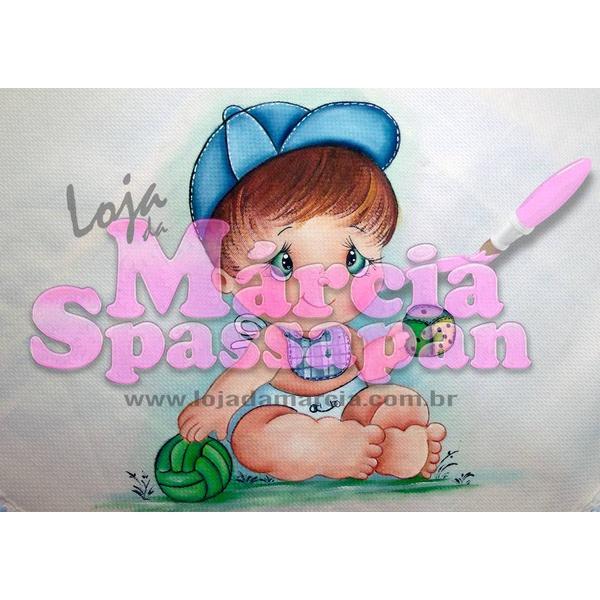 Projeto para Pintura com Foto e Risco Bebê Ed.1