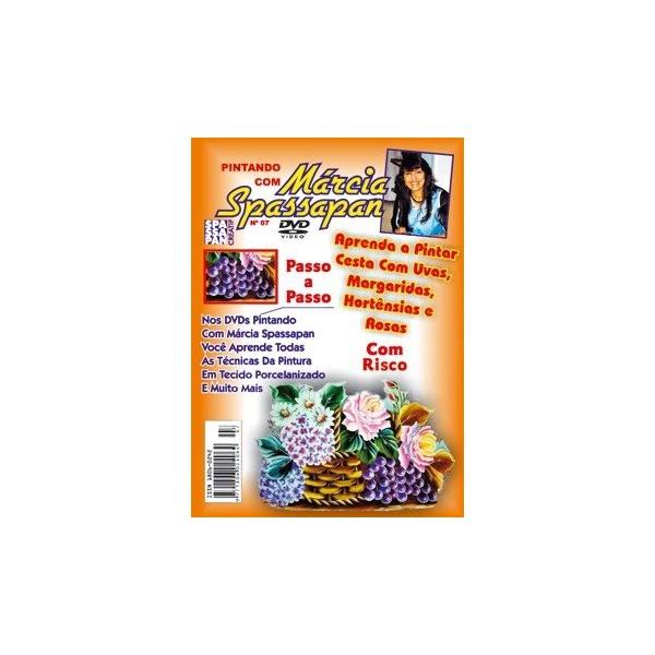 DVD Pintando Com Márcia Spassapan Edição 07