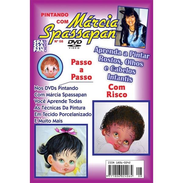 DVD Pintando Com Márcia Spassapan Edição 08