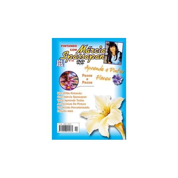 DVD Pintando Com Márcia Spassapan Edição 02