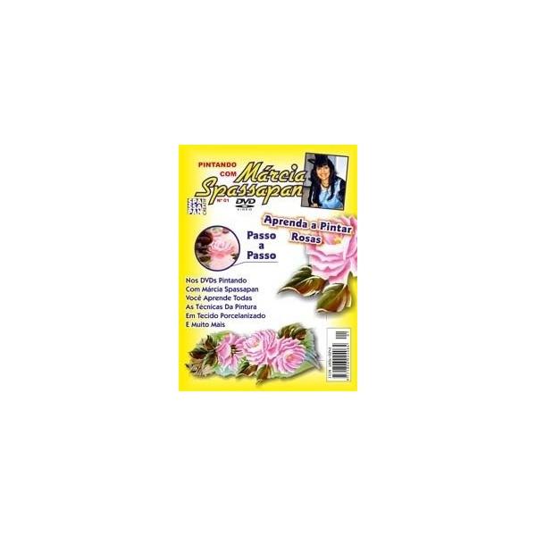 DVD Pintando Com Márcia Spassapan Edição 01