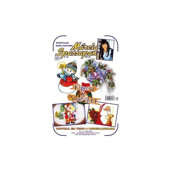 Apostila Para Pintura Natal Edição 29