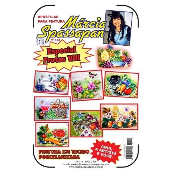 Apostila Para Pintura Frutas Edição 132