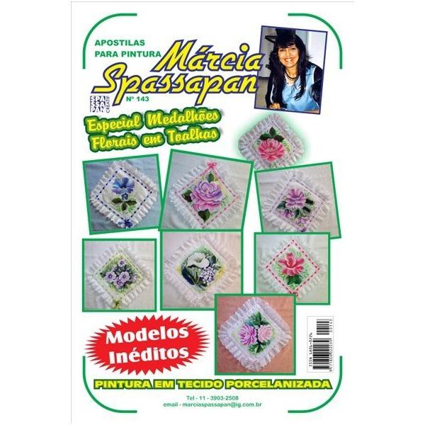 Apostila Para Pintura Flores Edição 143