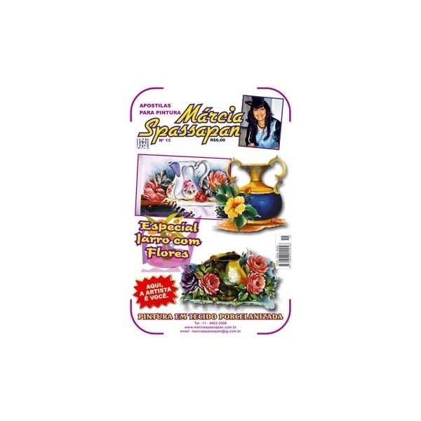 Apostila Para Pintura Flores Edição 15