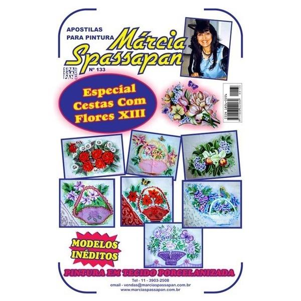 Apostila Para Pintura Flores Edição 133