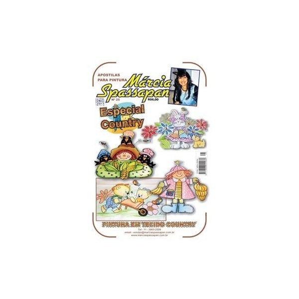 Apostila Para Pintura Country Folk Edição 25