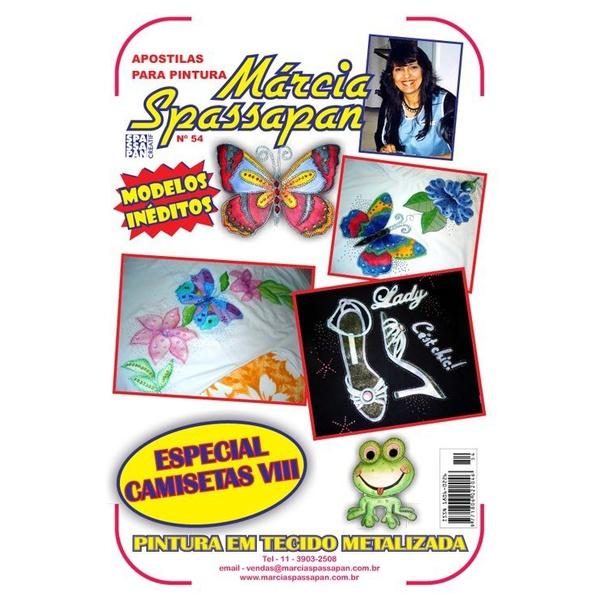 Apostila Para Pintura Camisetas Edição 54