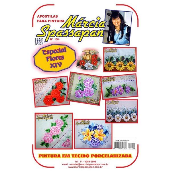 Apostila Para Pintura Flores Edição 151