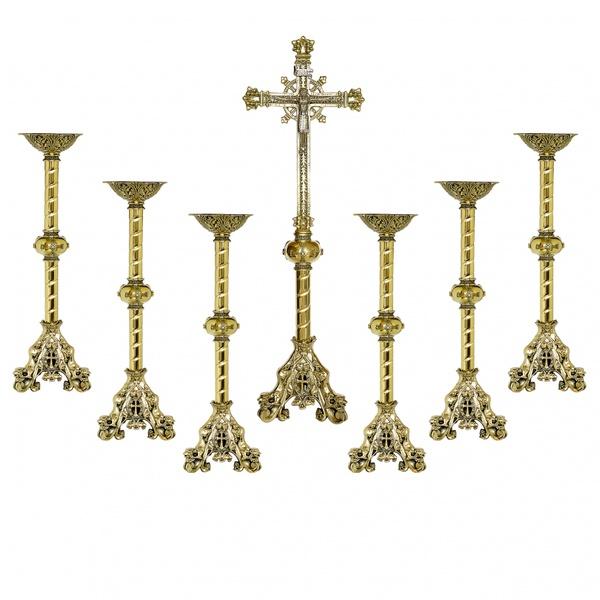 Castiçal e Crucifixo