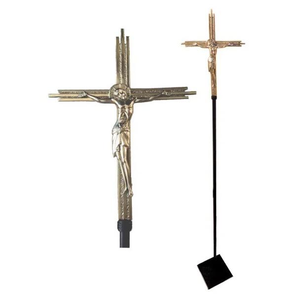 Cruz Processional Icone Cristo Modelo 1