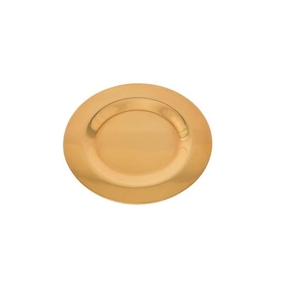 Patena Avulsa 14,7cm Dourado Total