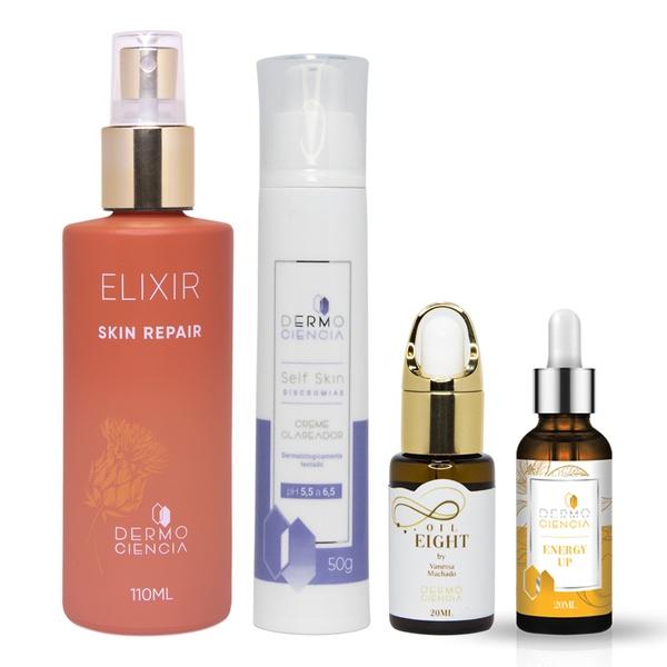 Dermo Rejuvenescimento - Skin Aid, Be Youger, Self Skin Discromias 50g e Oil Eight
