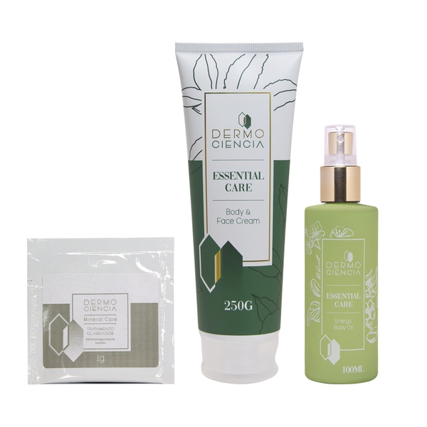 Mineral Care, Body & Face Cream e Energy Body Oil