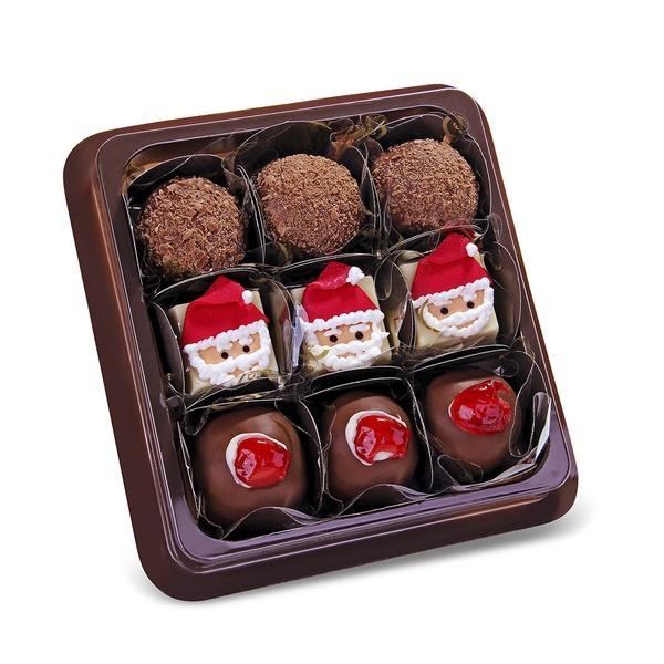 Bandeja 9 doces Natal