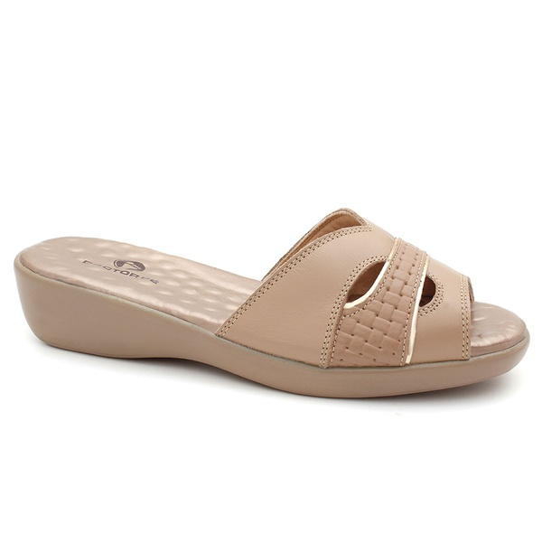 Tamanco Feminino Anatômico - Light Tan - 191007-LT