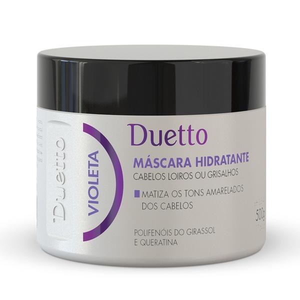 Mascara Hidratante Violeta Duetto 500g