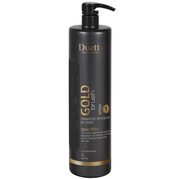Shampoo Gold Brush Duetto 1 L