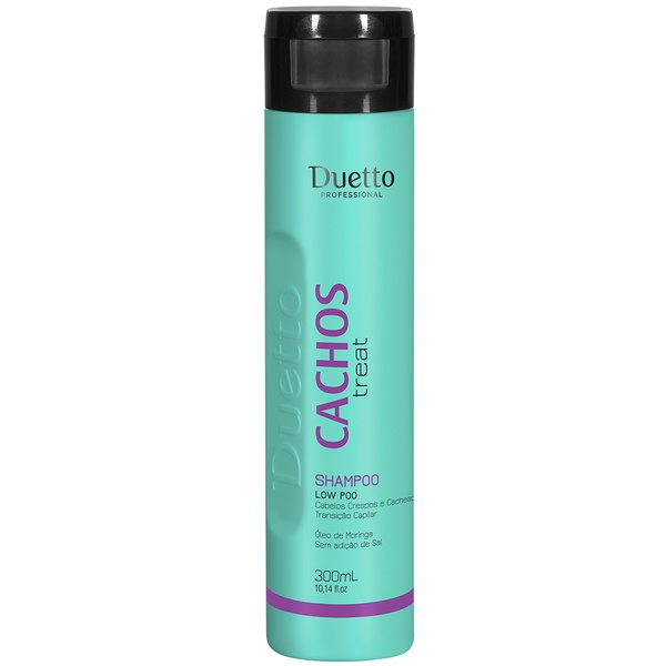 Shampoo Low Poo - Cachos Treat Duetto 300 ml
