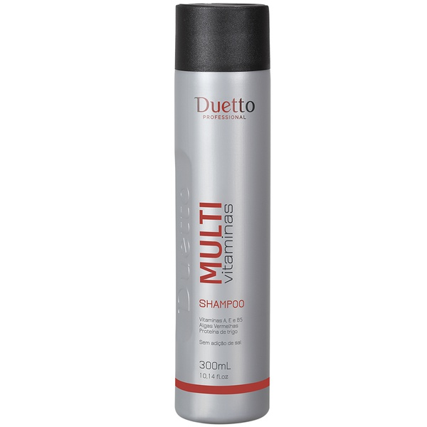 Shampoo Multi Vitaminas Duetto 300 ml