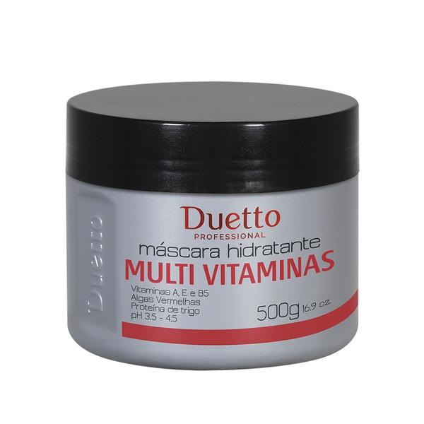 Máscara Hidratante Multi Vitaminas Duetto 500g