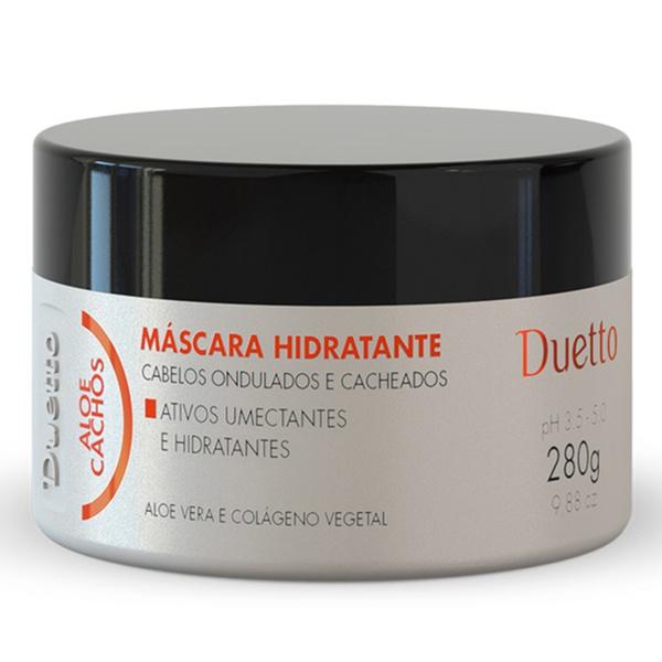 Máscara Hidratante Aloe Cachos Duetto 280g