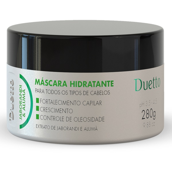 Máscara Hidratante Jaborandi Duetto 280g