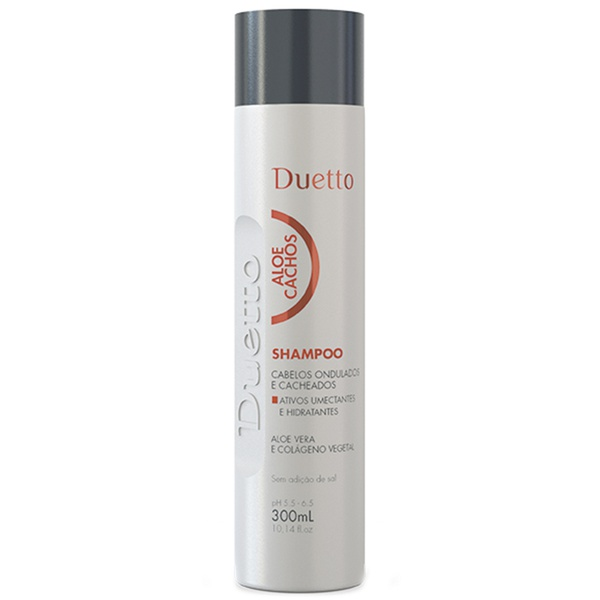 Shampoo Aloe Cachos Duetto 300 ml