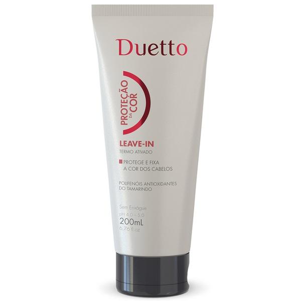 Leave In Proteção Da Cor Duetto 200ml