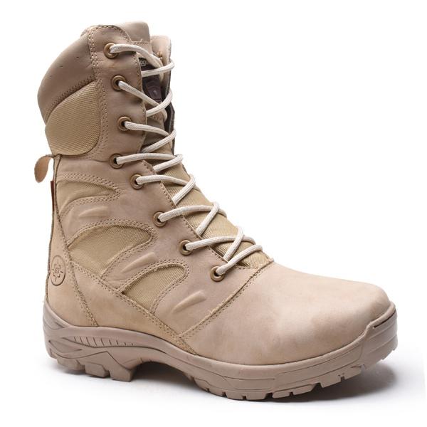 Bota Tática Militar Gogowear 100% Couro ref Extreme Areia