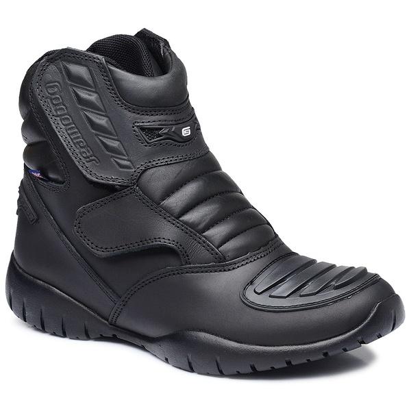Bota Tática Militar Gogowear 100% Couro ref XT 1006 cor Preta